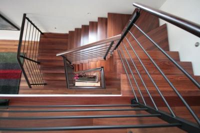 Escalier Jatoba